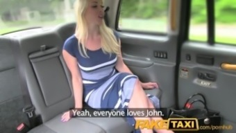 FakeTaxi New rider gives nearby hot brown superb anus intercourse