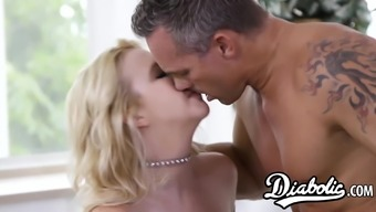 Stunning Samantha Rone has her extract blond pussy pulverized