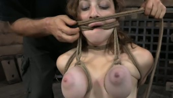 Bodacious chick with big tits receives the punishment she deserves