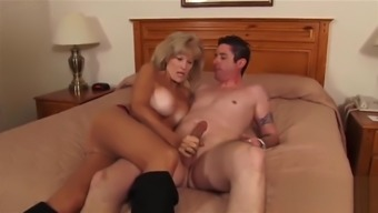 Kinky busty granny has her cunt penetrated