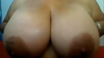 Colombian bbw big boobs girl IX