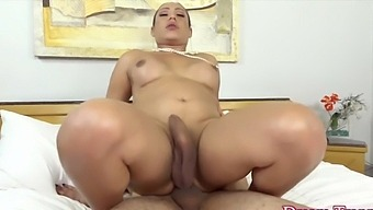 Cock hungry shemale sluts taking hard dicks in their tight asshole and enjoy getting fucked deep and good