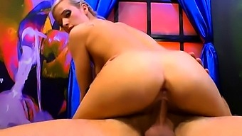 Ria sunn gets banging from behind and cumshots