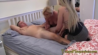 Coming Home From A Club And They Want To Suck His Cock - Ms Paris Rose And Abby Paradise