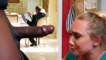 BANGBROS - Strong Arming AJ Applegate's Restricted Pussy Behind BF's Back