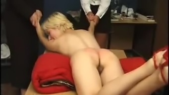 Harmed and spanked challenging
