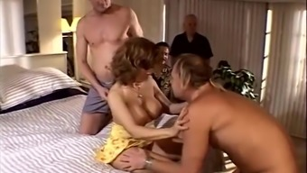 Sexy MILF Gets Fucked Facing Her Cuckold Spouse