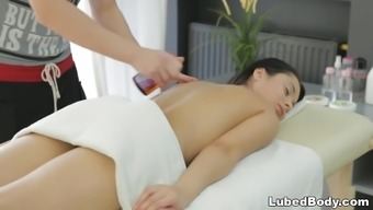 Small infant fucked from the masseur