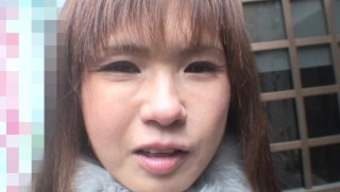 Japanese people MILF along with nice titties outdoor sheds her cold put on to get fucked