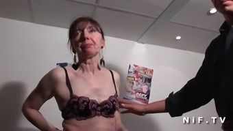 Lively french mature banged fist fucked and sodomized