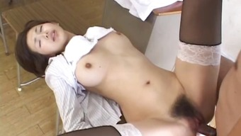 Mai Hanano Horny Japanese coach fucked part5