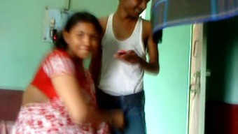 Desi Partners Fucking Before Camcorder and Loving