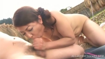 Ayano Murasaki the age Japanese people gets fucked open air