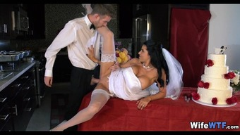Bride to be will get a Bad fats Cock