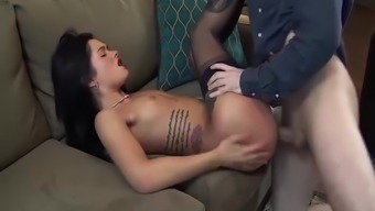 Sexy Tattooed Youngster Blackmailed To actually Fuck