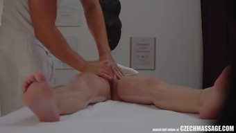 big tits spiteful lady seduced her masseur to hard sexual intercourse