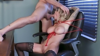 Wild fuck porn in the office for busty Fate Rx