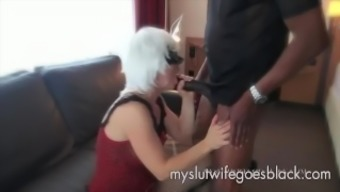 white companion Alexia Thomas first consult big black cock to effectively persuade