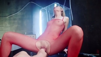 Remarkable Hdtv femdom video files with hungry blonde lesbo Ela Darling