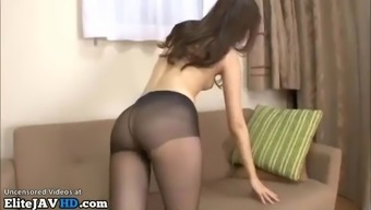 Stunning japanese model best pantyhose sex